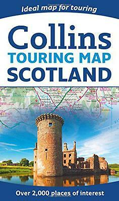 Scotland Touring Map, Collins Maps | Paperback Book | 9780008158521 | NEW