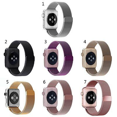 Milanese Loop Stainless Steel iWatch Bracelet Strap for Apple Watch Sport Band