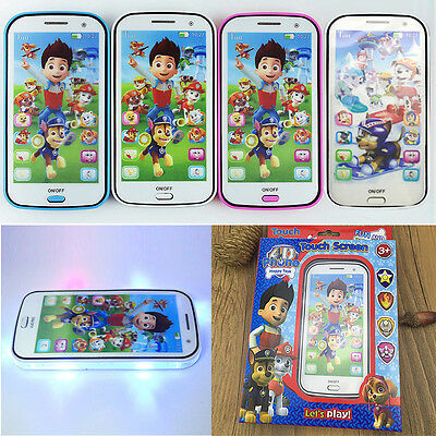 PAW PATROL Boy Girl Kids Children Figures Educational Learning Mobile Phone Toy