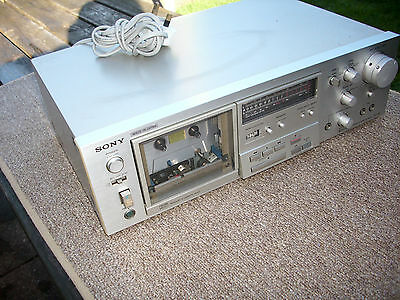 SONY HQ tape Deck Silver Model No TC-K 61 ( Good condition&working order)