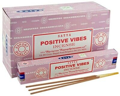 Satya Positive Vibes Incense Sticks With Various Options - 400118