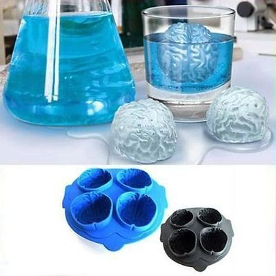 Creative Brain Shape Ice Cube Tray Freeze Jelly Chocolate Mould Christmas Party