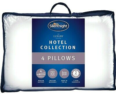 Silentnight Luxury Hotel Collection Pillow - 4 Pack
