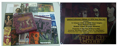 "CREEDENCE CLEARWATER REVIVAL **Singles Collection 15 x 7""-Vinyl-Singles**NEW**"
