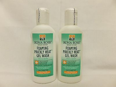 Twin pack Rona Ross Prickly Gel Wash 160ml.  EXPRESS P&P