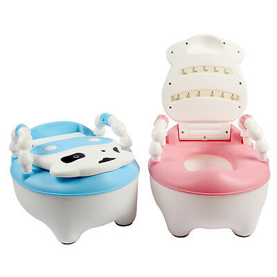 Baby Kid Toddler Training Toilet Seat Potty Chair Trainer Bathroom UK