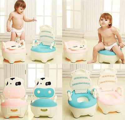 Baby Kid Portable Home Toddler Training Toilet Urinal Seat Potty Chair New