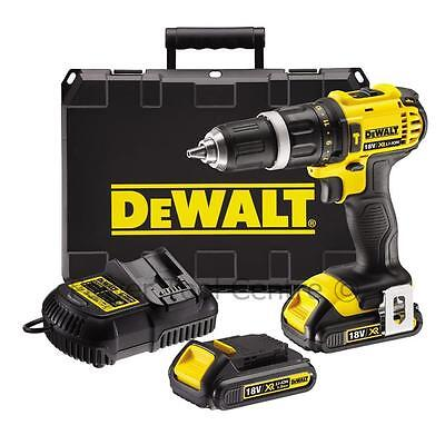 Dewalt Reconditioned DCD785C2 18V Compact Hammer Drill Li-Ion 2 x 1.5Ah Kit
