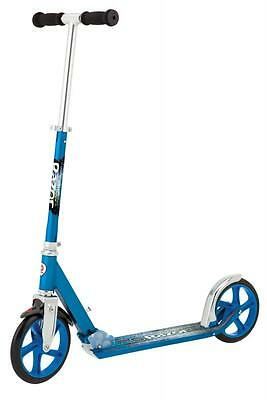 Razor A5 Lux Stunt Scooter Blue Pro Style T Bar Patented Rear Fenbder Brake 8 +