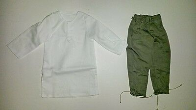 Action figure 1/6 - DRAGON - WWII German trousers and white long shirt