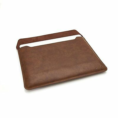 Ordel Leather Sleeve Case Cover Apple Macbook Pro/Retina & iPad 2 3 4 Air Mini