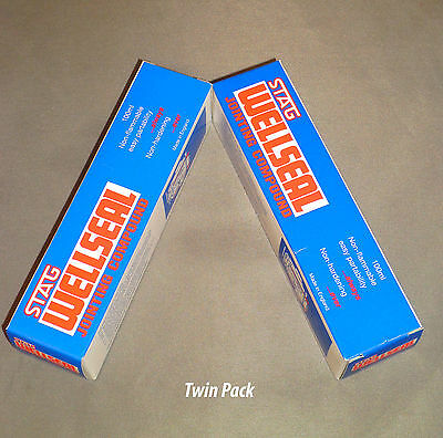 Stag Wellseal Gasket Jointing Compound Twin Pack 2 X 100ml  Tube