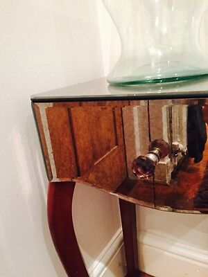 Laura Ashley Pair Of Mirrored Bedside Tables