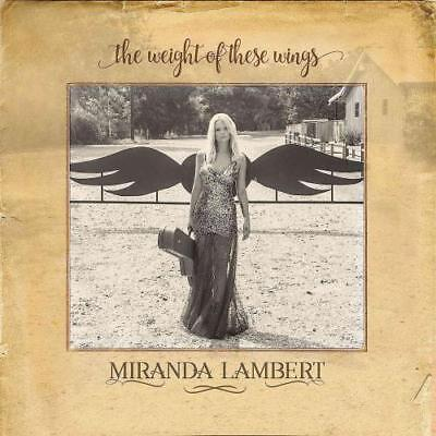 Miranda Lambert - The Weight Of These Wings * Used - Very Good Cd