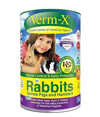 Verm-X - Herbal Nuggets for Rabbits x 180 Gm Tube