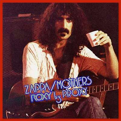 Frank Zappa - Roxy By Proxy CD  FREE SHIPPING !! (Live / Previously Unreleased)