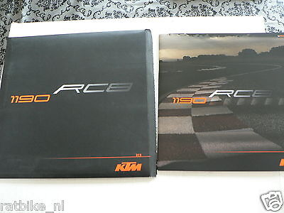 D573 Brochure Ktm Rc8 1190 Dutch 40 Pages With Dvd And Envelop Very Rare