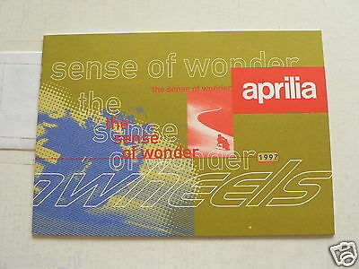 D631 Brochure Aprilia 1997 All Models Dutch 20 Pages With Scooters,Rally,Amico,S
