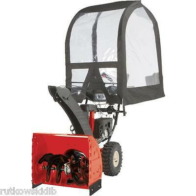 Deluxe Universal Heavy Duty Snowthrower Cab Fits All 2-Stage Snowthrowers