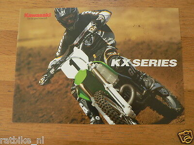 Hap-073 Kawasaki Brochure  Kx Series 2003 ? English 8 Pages,Kx250,Kx125,Kx65,50