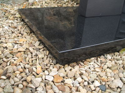 """New Absolute Black Granite Hearth 36"""" x 15"""" for Gas/Electric fireplace"""