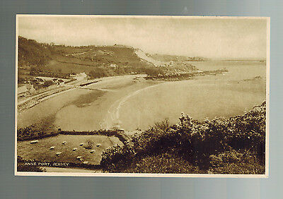 1943 Ocuppied Jersey England Anne Port Real Picture Postcard First Day Cover
