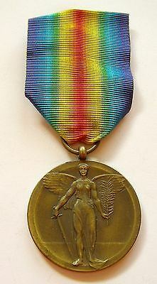g666 ROMANIA Victory Medal WWI Interallied unofficial version Type 1B
