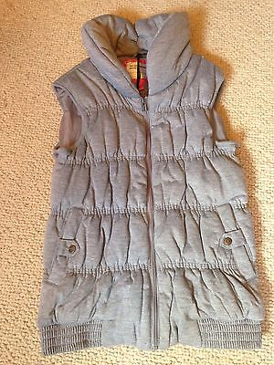 BNWT Brave Soul Cosy Gilet In Grey Age 13 Years