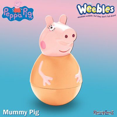 Peppa Pig Weebles - Mummy Wobbily Figure Pack - New & Boxed