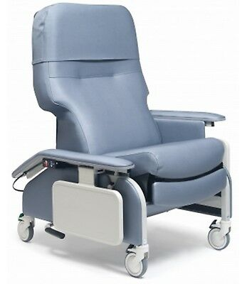 NEW: Lumex [FR566DG8504] DLX Clinical Care Recliner w Drop Arms (SAND) $995