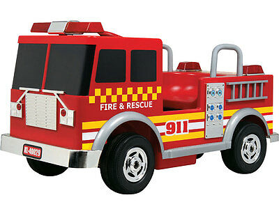 Kalee Fire Truck 12v Red - RIDE-ON Battery Powered - KL-40027