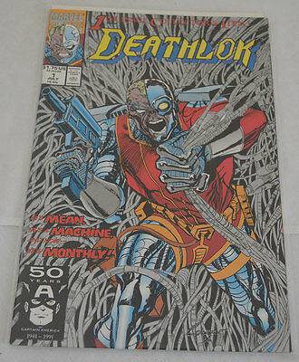 Deathlok 1st Issue Marvel Comic Book - July - NM  Free S&H