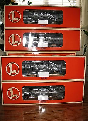 SET OF 4 Lionel 2564-67 New York Central Heavyweight Passenger Car NEW FREE SHIP