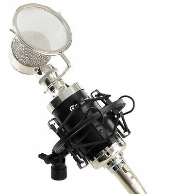 New Professional Studio Sound Recording Condenser Microphone w/ Shock Mount