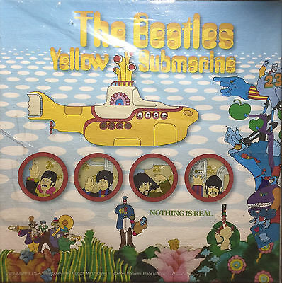 Beates Yellow Submarine Canvas Print Limited to 500 NEW Sealed Nothing is Real