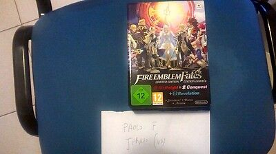 Fire Emblem Fates Special Limited Edition 3 Ds 3Ds New Sealed Sigillato Pal Ita