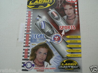 O209 Brochure Laser Exhaust Systems Made By Jama English 4 Pages Uitlaten