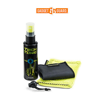 Gadget Guard TechTonic Screen Cleaner Kit Microfiber Cleaning Cloth & Pouch