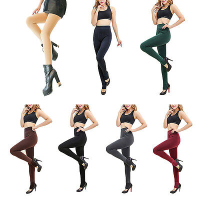 Women Ladies Winter Fleece Thick Thermal Warm Leggings Jeggings Pant Full Length