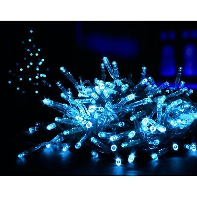 New 1000 LED Christmas Lights Flashing MultiColour Xmas Light Outdoor