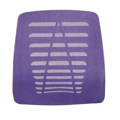 Lumbar Lower Back Support Cushion Office Pain Relief Orthopaedic Posture Purple
