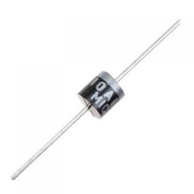 100Pcs R-6 R6 1000V 10A 10 Amp Axial Rectifier Diode New