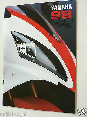 Y026-Yamaha Brochure All Models 1998 Dutch 26 Pages,Supersport,Yzf-R1