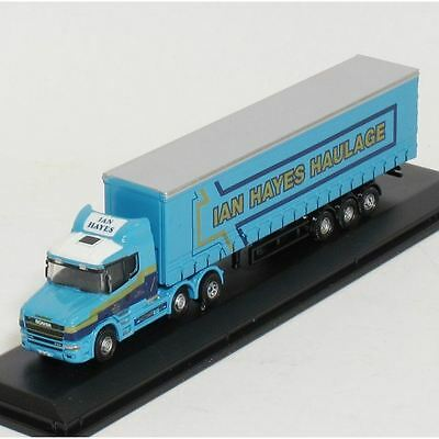 Oxford Diecast Model - Scania T Cab Curtainside Ian Hayes Truck - NTCAB002 - New