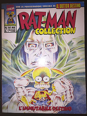 "Rat-Man Collection 2 ""L'immutabile destino"" Marvel Eccellenti condizioni 1° rist"