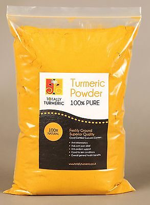 Turmeric Powder 100% Pure - 5.1% Curcumin - Super Fresh