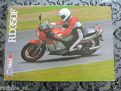 Y173 Yamaha Brochure Rd350F 1986 ? English 6 Pages ,is Damaged