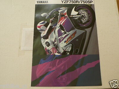 Y283 Yamaha Brochure Yzf750R,750Sp 1994  ? Motorcycle English 8 Pages