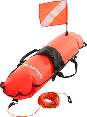 Scubapro Surface Buoy With Flag  Orange Signaling buoys