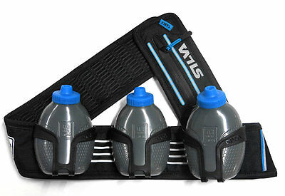 Silva Distance Trio 3 x 0.3 Liters Black   Blue Riñoneras